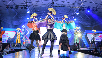 JAPAN FESTA IN BANGKOK メインステージ画像